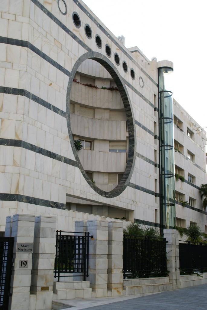 budynki i architektura Marbelli fot . Joanna Wędrychowicz