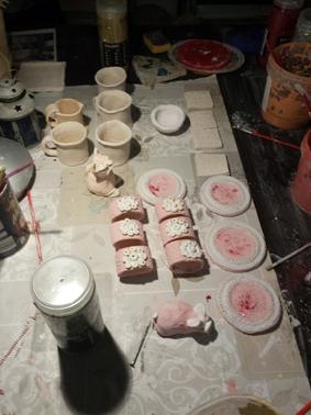 szkliwienie ceramiki Joanny