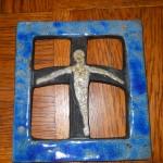 ramka z krzyżykiem wyk. Dorota Kunecka